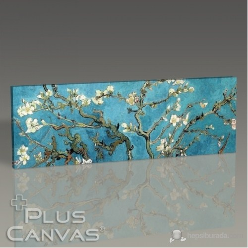 Pluscanvas - Vincent Van Gogh - Blossoming Almond Tree Tablo