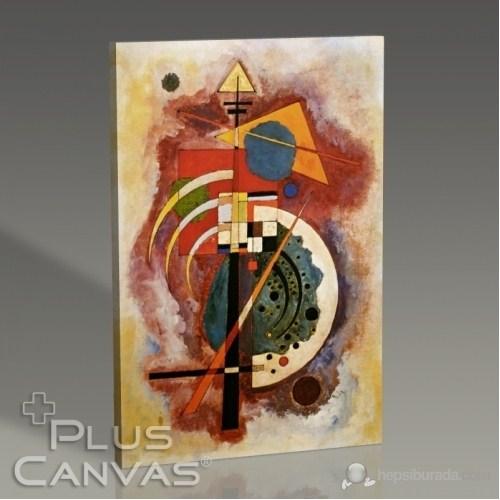 Pluscanvas - Wassily Kandinsky - Hommage A Grohmann Tablo