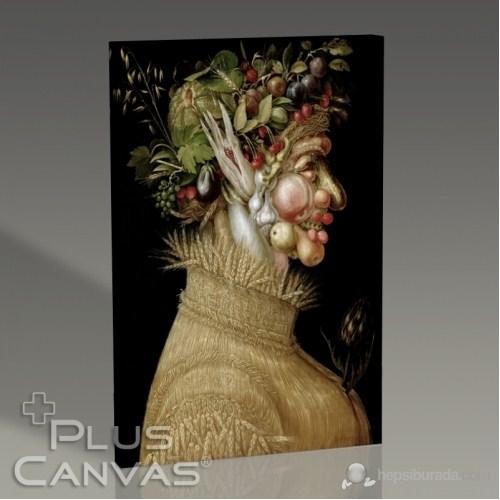 Pluscanvas - Giuseppe Arcimboldo - Figure Iıı Tablo