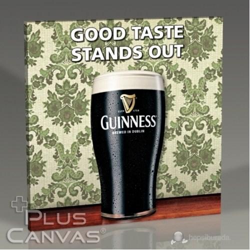 Pluscanvas - Guinness - Good Taste Stands Out Tablo