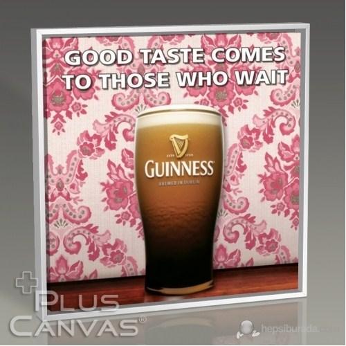Pluscanvas - Guinness - Good Taste Comes To Those Who Wait Tablo