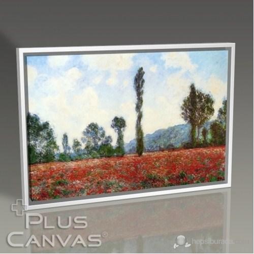 Pluscanvas - Cloude Monet - Campo Di Papaveri Tablo