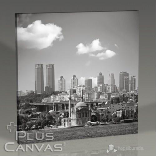 Pluscanvas - İstanbul - Ortaköy Ve Boğaz Tablo