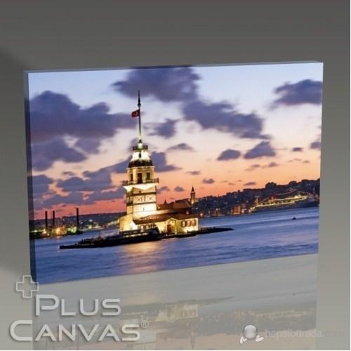 Pluscanvas - İstanbul - Kız Kulesi Tablo