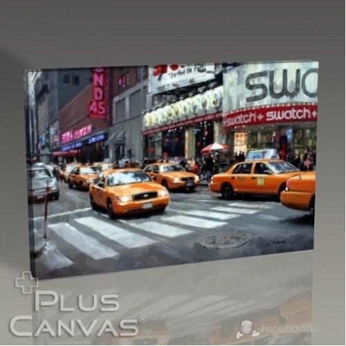 Pluscanvas - New York Cabs Tablo