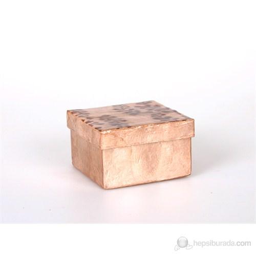 Kahverengi Dal Model Kare Kutu