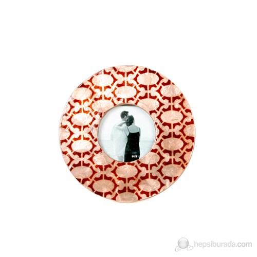 Kahverengi Oval Zincir Model Fotoğraf Çerçevesi