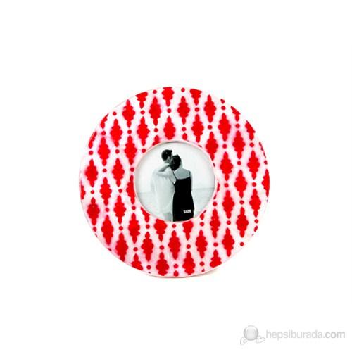 Kırmızı Damla Model Fotoğraf Çerçevesi