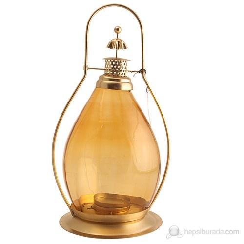 Büyük Fener Sarı Metalli Amber