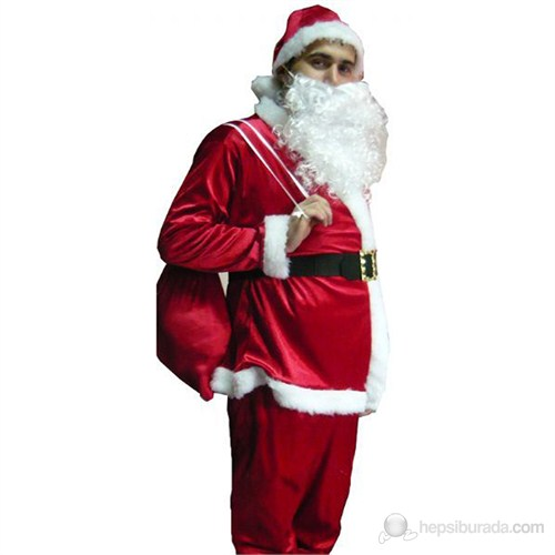 Noel Baba Elbisesi Yetişkin Medium