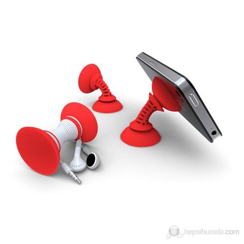 Çift Vantuzlu Telefon Tutucu Simple Sucker