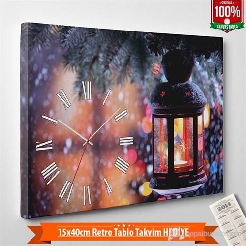 Tabloshop - Yılbaşı Özel Saat - Yb-14 - 45X30cm - Takvim Hediye