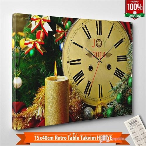 Tabloshop - Yılbaşı Özel Saat - Yb-22 - 45X30cm - Takvim Hediye