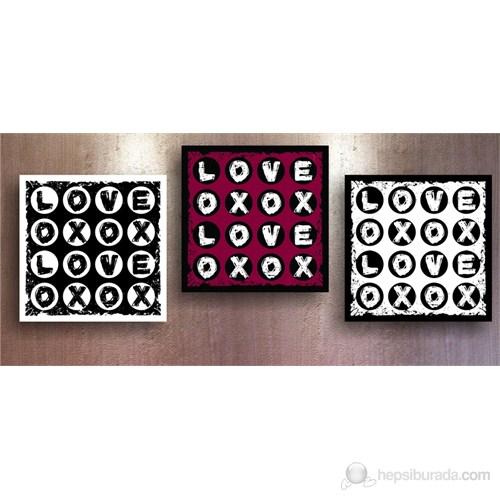 Aşk Bulmacası Kanvas Tablo
