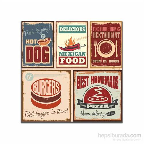 Dolce Home Retro Food Tablo 35
