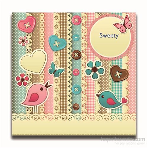 Dolce Home Dekoratif Sweety Yazılı Tablo