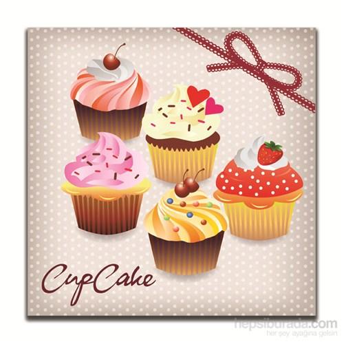 Dolce Home Dekoratif Cupcake Tablo 9