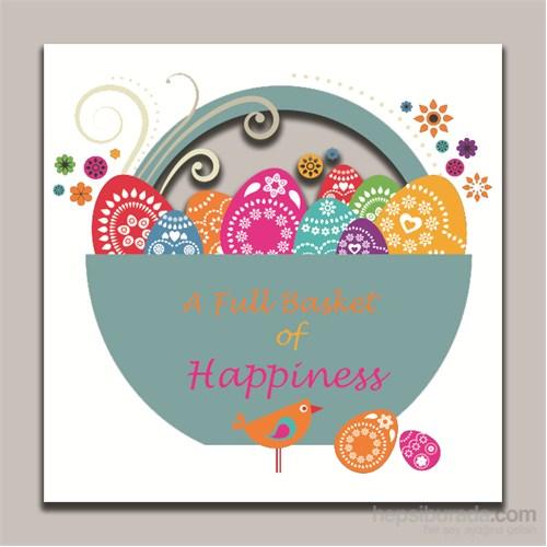 Dolce Home Dekoratif Mutluluk Dolu Temalı Tablo