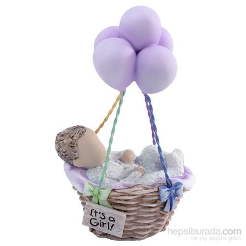 Baby Girl / Kız Bebek Temalı Dekoratif Biblo