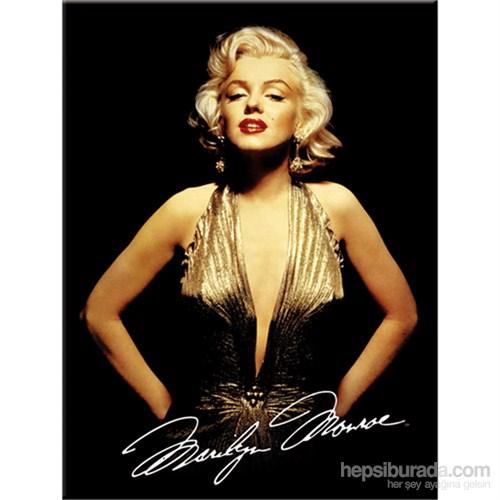 Marilyn Monroe - Gold Magnet
