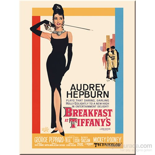 Breakfast At Tiffany'S Classic Magnet