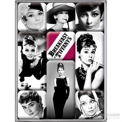 Audrey Hepburn Magnet Set (9 Parça)