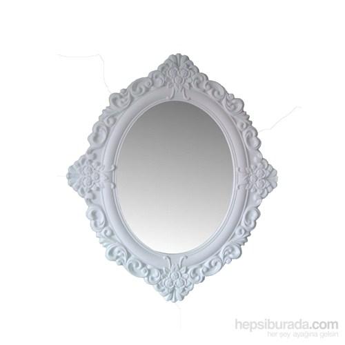 Motifli Ayna Yuvarlak 65 Cm