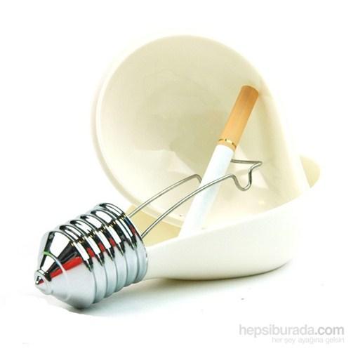 Bulb Ashtray - Ampul Küllük Beyaz