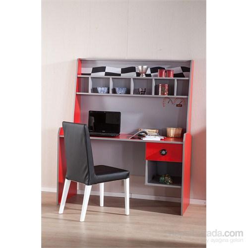 Ralli Kırmızı Çocuk Odası Çalışma Masası