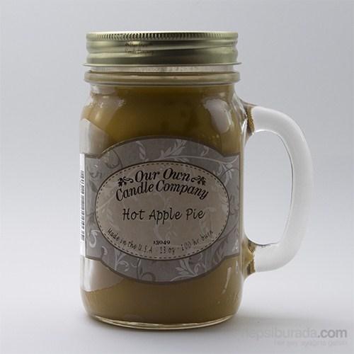 Hot Apple Pıe Büyük Kavanoz Mum