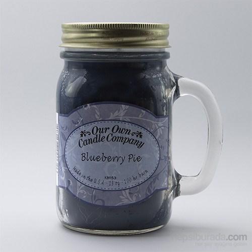 Blueberry Pıe Büyük Kavanoz Mum