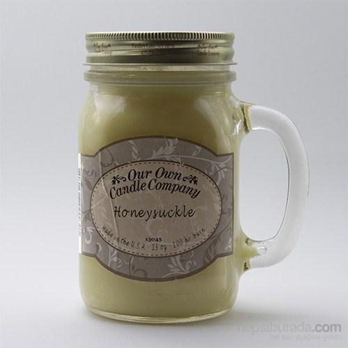 Honeysuckle Büyük Kavanoz Mum