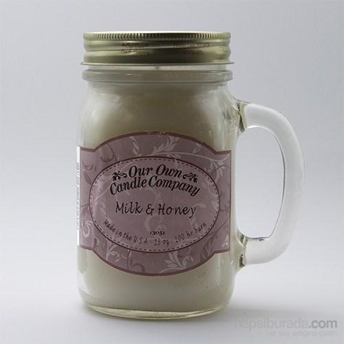 Mılk & Honey Büyük Kavanoz Mum