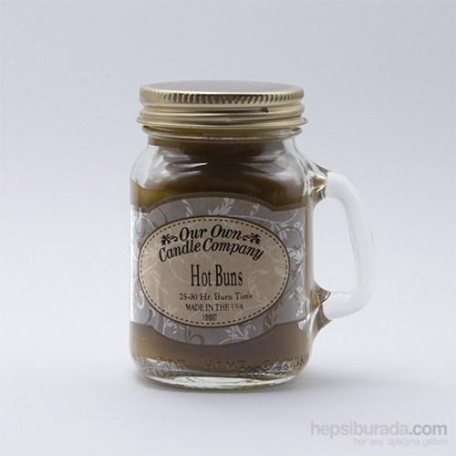 Hot Buns (Cinnamon) Küçük Kavanoz Mum