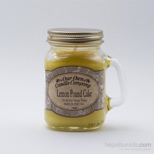 Lemon Pound Cake Küçük Kavanoz Mum