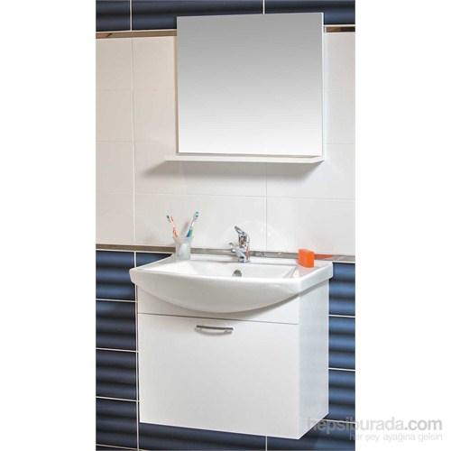 Ilgaz 65 Cm Banyo Dolabı Beyaz