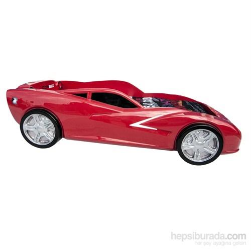 Cor Bed Maxi Kırmızı Arabalı Yatak