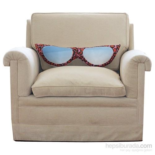 Audrey Gözlük Tasarım Yastık