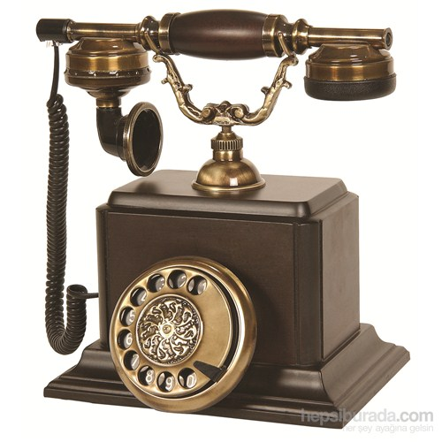 Şato Ahşap Ceviz Klasik Telefon