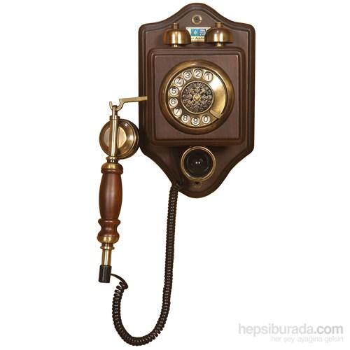 Küçük Duvar Ahşap Telefon