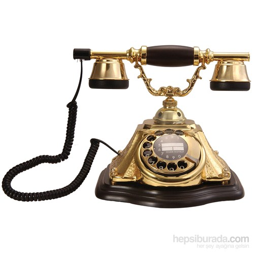 Piramit Altın Varaklı Telefon