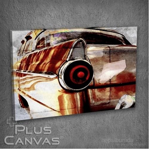 Pluscanvas - Old Car Iı Tablo
