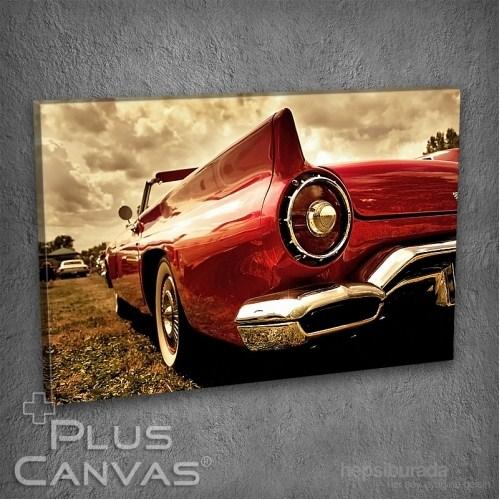 Pluscanvas - Old Car V Tablo
