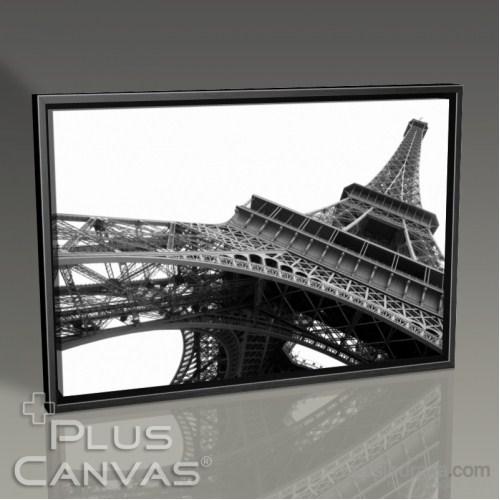 Pluscanvas - Paris - Eiffel Tower Perspective I Tablo