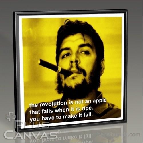 Pluscanvas - Che Guevara - Revolution Tablo