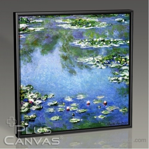 Pluscanvas - Cloude Monet - Nymphaeas Tablo