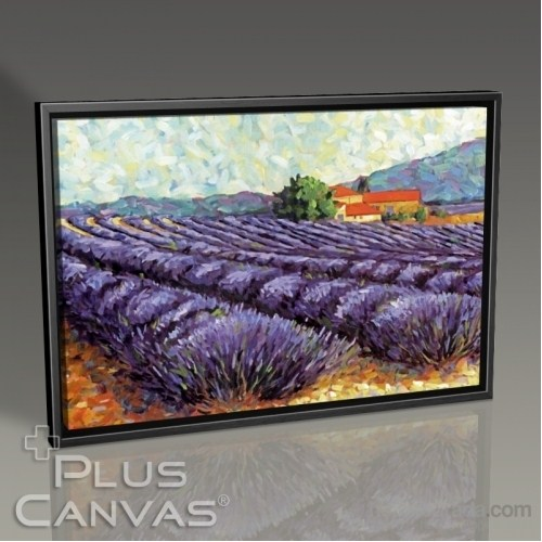 Pluscanvas - Lavender Fields Tablo