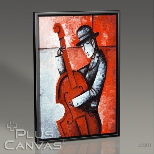 Pluscanvas - Marinne Vias - Instrument Playin Series Vı Tablo