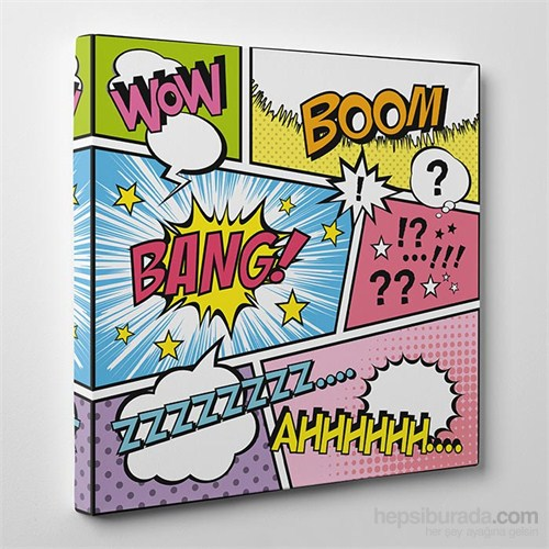 Tabloshop Wow Boom Kanvas Tablo