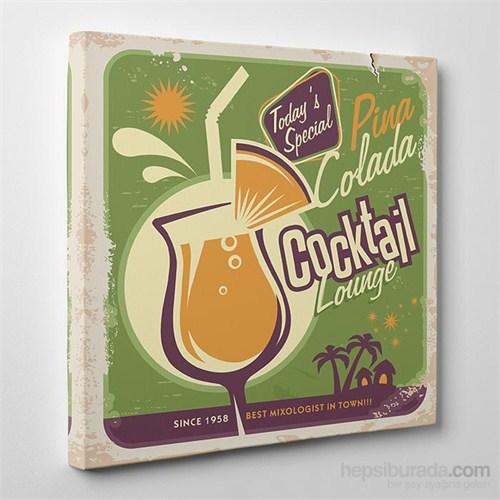 Tabloshop Cocktail Kanvas Tablo